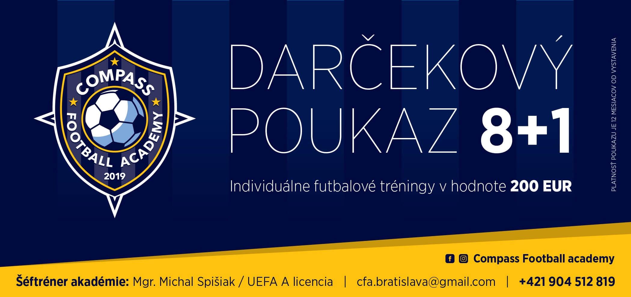 darcekovy_poukaz_futbalove_compass_academy